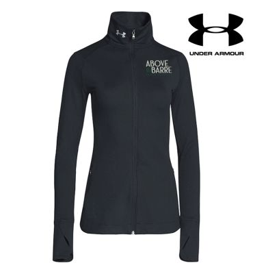 ATB Dance Academy Winter Under Armour Women's Sporty Lux Warm Up Jacket-Black