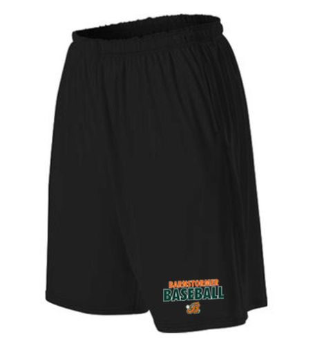 Barnstormer Baseball Spring Training Shorts with Pockets-Black
