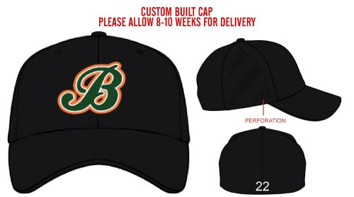 03. Barnstormers AIR25 Official Team Cap-Black