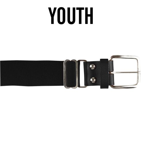 13. Champro YOUTH Brute Baseball Belt-Black