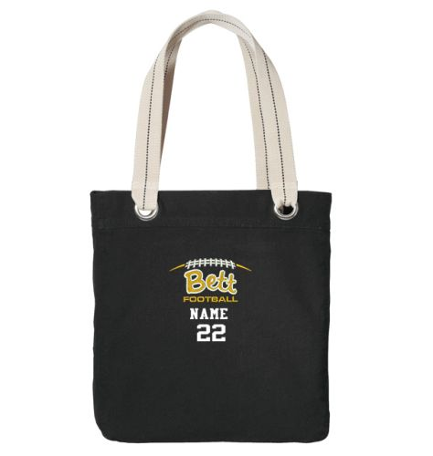 Bettendorf Football Port Authority Allie Tote-Black