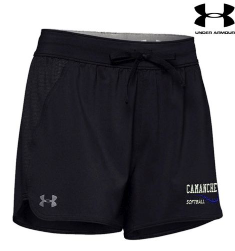 Camanche Softball Under Armour Women's Game Time Short-Black
