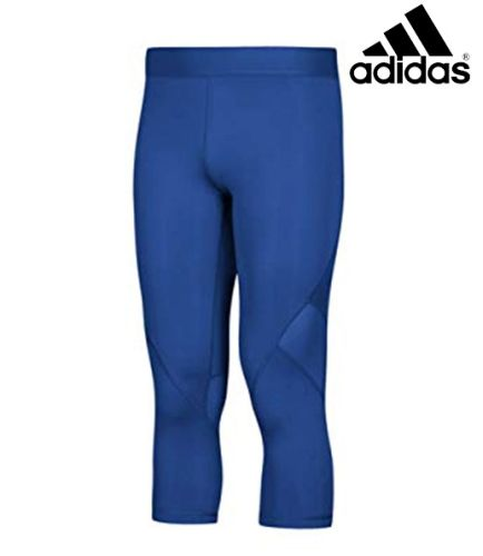 Camanche Football TEAM Store Adidas Alphaskin 3/4 Tight- Royal