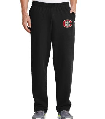 Clinton High School Drama Holiday Port and Company Core Fleece Sweatpant with Pockets-Black