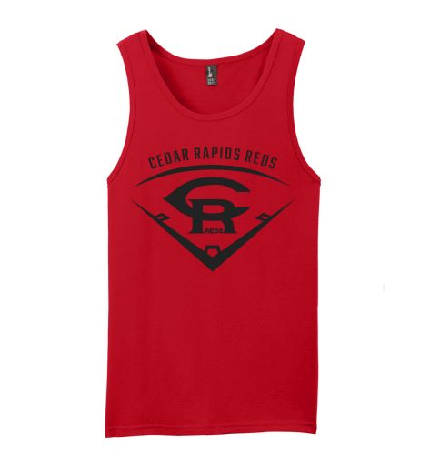 Cedar Rapids Reds Baseball District The Concert Tank-Red