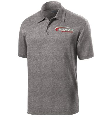 Floyd's Truck Center Company Store Sport-Tek Heather Contender Polo-Vintage Heather