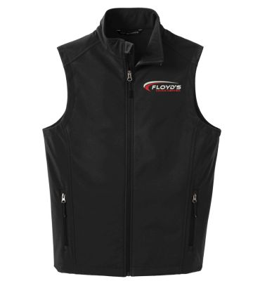 Floyd's Truck Center Company Store Port Authority Core Soft Shell Vest-Black