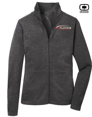 Floyd's Truck Center Company Store OGIO Ladies Picel Full Zip-Blacktop