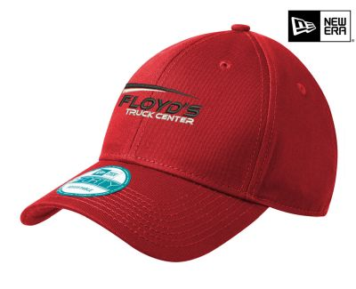 Floyd's Truck Center Company Store New Era Adjustable Structured Cap-Scarlet