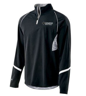 22. Genesis Physical Therapy Holloway Tenacity Pullover Jacket - Black