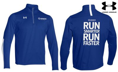 26. Genesis Physical Therapy Under Armour Qualifier 1/4 Zip - 400Royal