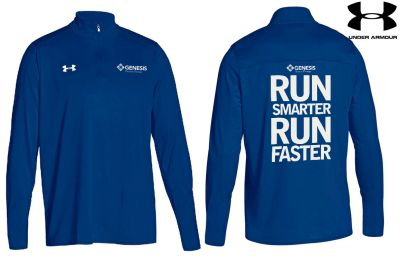 28. Genesis Physical Therapy Under Armour Locker 1/4 zip - 400 royal