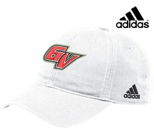 26. Grand View Football Holiday Adidas Slouch Hat-White