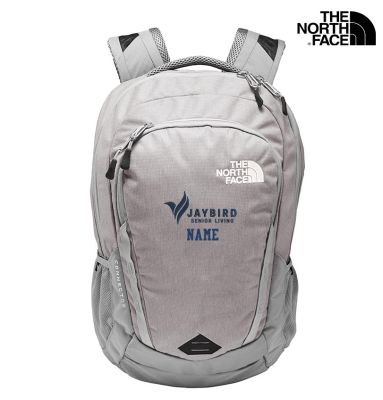 Jaybird Senior Living The North Face Connector Backpack-Mid Grey Dark Heather/Mid Grey