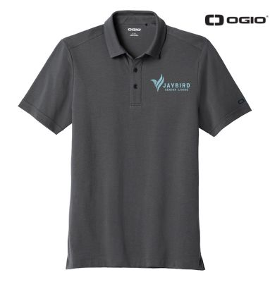 Jaybird Senior Living OGIO Limit Polo-Diesel Grey