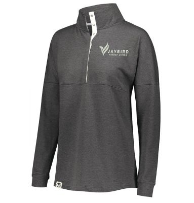 Jaybird Senior Living Ladies Sophomore Pullover-Black