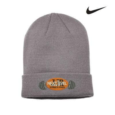 JJR Next Level Training and Fitness Nike Sideline Beanie-Anthracite