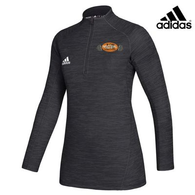 JJR Next Level Training and Fitness Adidas Women's Game Mode Performance 1/4 Zip-Black