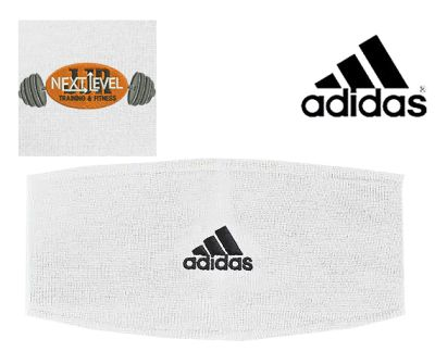JJR Next Level Training and Fitness Adidas Earband-White