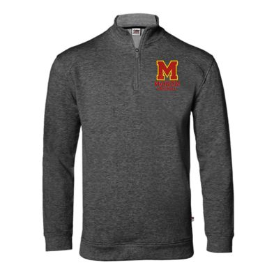 Marion Youth Baseball Fall/Winter Performance Flex 1/4 Zip-Charcoal Grey