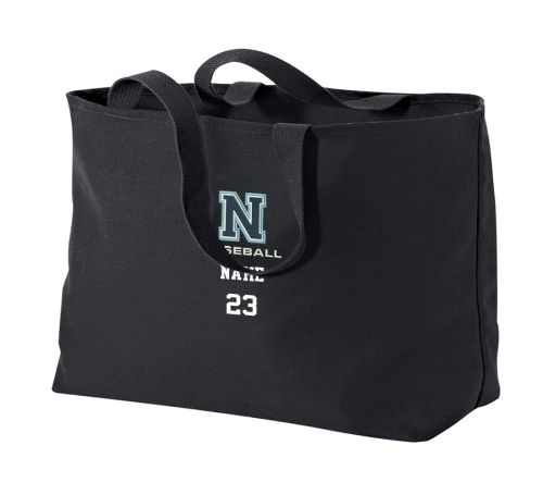 Northeast Baseball Port Authority Jumbo Tote-Black