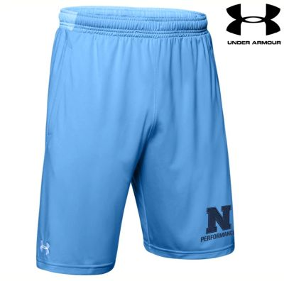 "Northeast Performance Under Armour Men's Pocketed Shorts 9""-Carolina Blue"