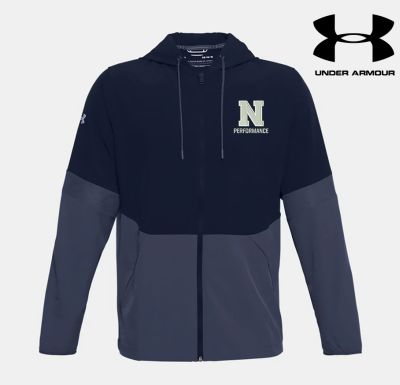 Northeast Performance Under Armour Squad Woven Jacket-navy