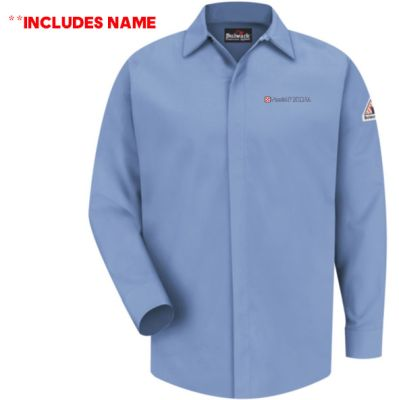 07. Nestle Purina Concealed-Gripper Pocketless Shirt-CAT 2-WITH NAME-Light Blue