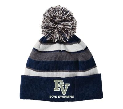 Pleasant Valley Boys Swimming Fall Holloway Comback Beanie-Navy/White/Graphite
