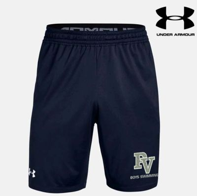 Pleasant Valley Boys Swimming Fall Under Armour Pocketed Raid Short-Navy