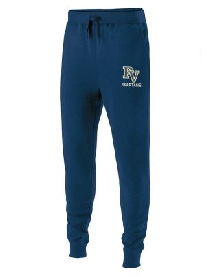 Pleasant View Elementary Holiday 60/40 Fleece Jogger-Navy