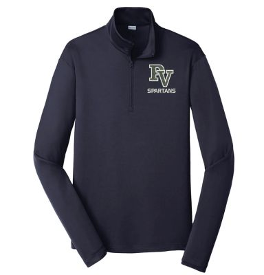 Pleasant View Elementary Holiday Sport Tek PosiCharge Competitor 1/4 Zip Pullover-True Navy