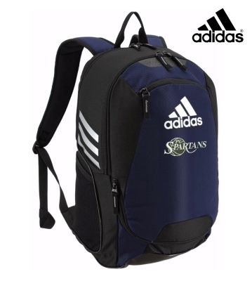 PV Spartans Boys Basketball Adidas Stadium II Backpack-Collegiate navy