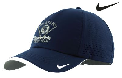 Pleasant Valley Trap Team Holiday Nike Dri Fit Swoosh Perforated Cap-Navy