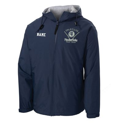 Pleasant Valley Trap Team Holiday Port Authority Team Jacket-Bright Navy/Light Oxford