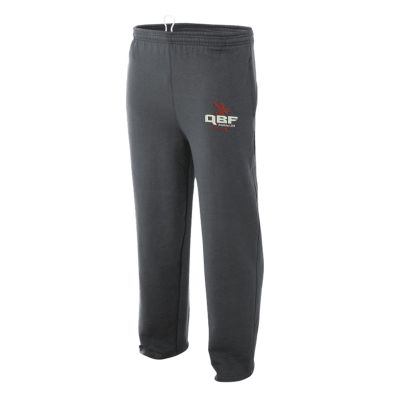 Quarterback Farm Holiday Open Bottom Pocketed Fleece Sweatpant-Graphite