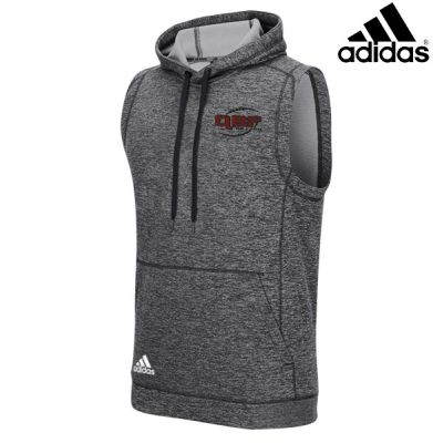 Adidas Team Issue Sleeveless Workout Hoodie