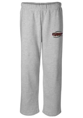 Badger Open Bottom 9.5oz Sweatpants With Pockets Oxford