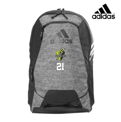 Quad City Strikers Soccer Adidas Stadium II Backpack-Jersey Onix