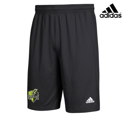 Quad City Strikers Soccer Adidas YOUTH Event Shorts-Black