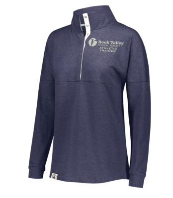 05. Rock Valley Athletic Trainer Ladies Sophomore Pullover-Navy Heather