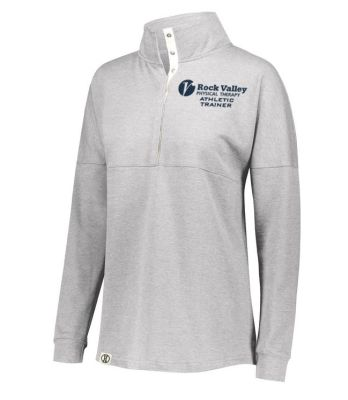 06. Rock Valley Athletic Trainer Ladies Sophomore Pullover-Athletic Heather