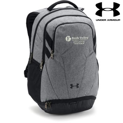 19. Rock Valley Athletic Trainer Under Armour Team Hustle 3.0 Backpack-Grey