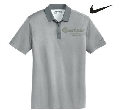 24. Rock Valley Athletic Trainer Nike Dri-FIT Heather Pique Modern Fit Polo-Grey Heather