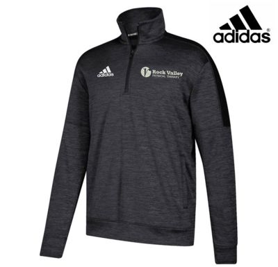 07. Rock Valley Physical Therapy adidas Team Issue 1/4 Zip-Black