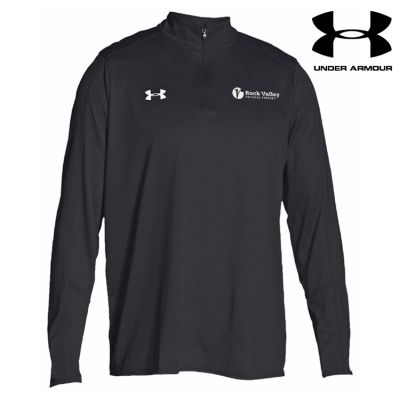 24. Rock Valley Physical Therapy Under Armour Lightweight Locker 1/4 Zip-Black