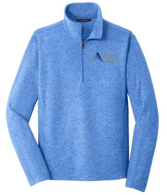 The Northern Group Microfleece 1/2 Zip Pullover-Light Royal