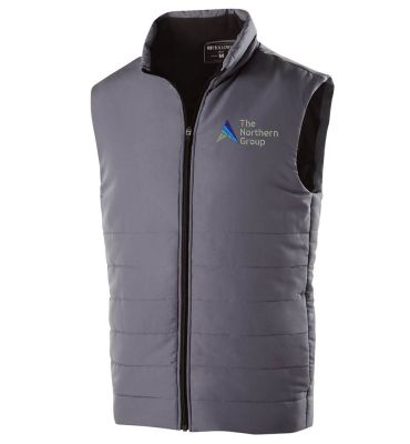 The Northern Group Mens Admire Vest-Graphite