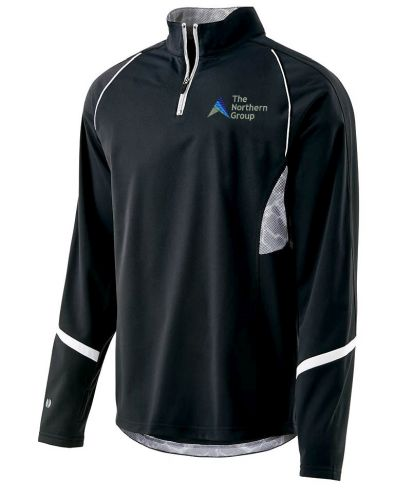 The Northern Group Mens Tenacity Pullover-Black