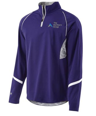 The Northern Group Mens Tenacity Pullover-Purple